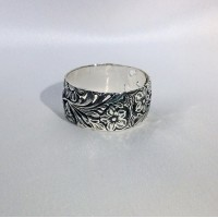 Серебряное кольцо Поляна