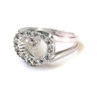 Серебряное кольцо Любимое