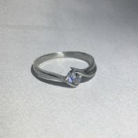 Серебряное кольцо Флирт