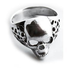 Кольцо с черепом Киборг мужское