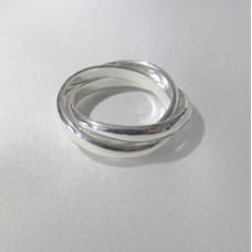 Кольцо Тринити тройное