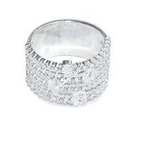 Кольцо Любовь - Love c камнями