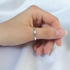 Колечко серебряное Уна