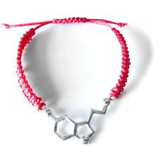 9006 Красная нить с серебряным гормоном счастья