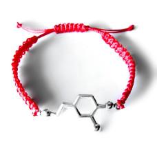 9007 Красная нить с серебряным гормоном Дофамин