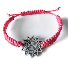 9008 Красная нить со вставкой Звезда Эрцгаммы