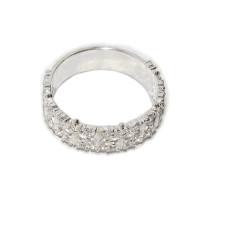 Кольцо Диана ажурное