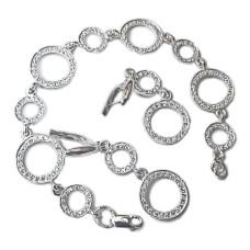 Комплект браслет и серьги Кольца Сатурна