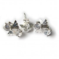 Комплект Фантом (Ангел) - серьги и подвес